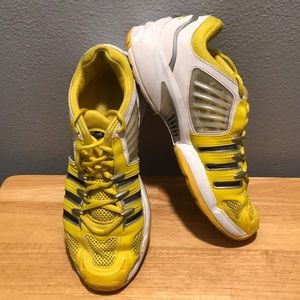 Adidas Adiprene Clima Cool Yellow Gray/White Mens